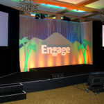 Engage Event Stage Custom Backdrop