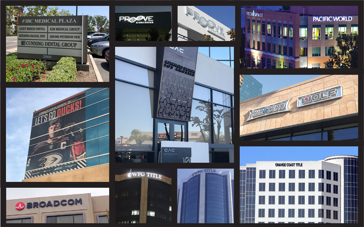 Exterior Signage: produced by a EuroMedia Production Partner – Caliber Signs