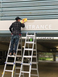 Experian Signage Installation